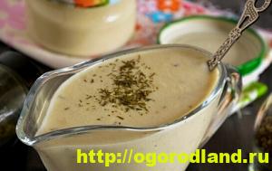 Соусы. Рецепты приготовления соусов для мясных и рыбных блюд 13