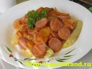 Вкусные блюда с сосисками. Рецепты на все случаи жизни