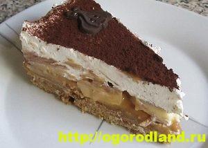 Домашние тортики и десерты без выпечки. 12 вкусных рецептов 5