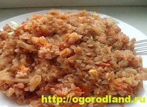 Блюда из гречки. Гречневые каши запеканки, котлеты. Рецепты 9
