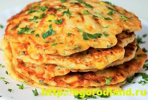 Блюда из кукурузы. Рецепты салатов, горячих блюд, выпечки 6