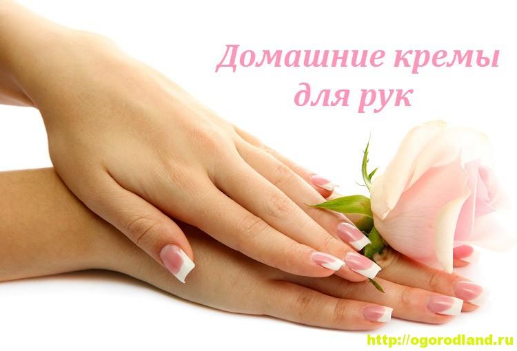 Домашние кремы для рук. Состав и способы приготовления крема 1