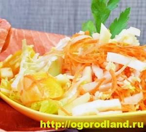 Салаты с мандаринами. Топ 6 рецептов оригинальных салатов 5