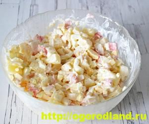 Салаты с ананасом. Рецепты вкусных и оригинальных салатов 11
