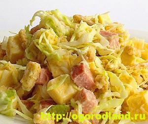 Салаты с ананасом. Рецепты вкусных и оригинальных салатов 12