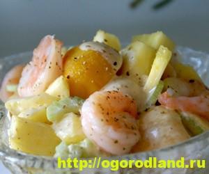 Салаты с ананасом. Рецепты вкусных и оригинальных салатов 9