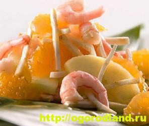 Салаты с мандаринами. Оригинальные рецепты 7