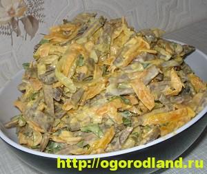 Салаты с печенью. Подборка рецептов вкусных салатов