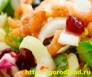 Салаты с морепродуктами. Топ 7 рецептов