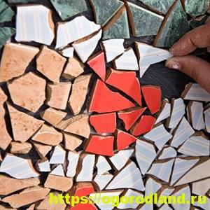 Керамическая плитка в ландшафтном дизайне