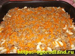 Запеканка с макаронами и фаршем. Подробный рецепт с фото 16