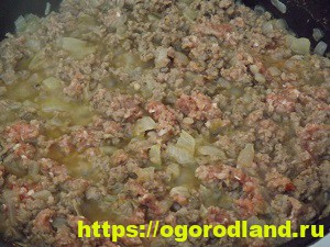 Запеканка с макаронами и фаршем. Подробный рецепт с фото 9