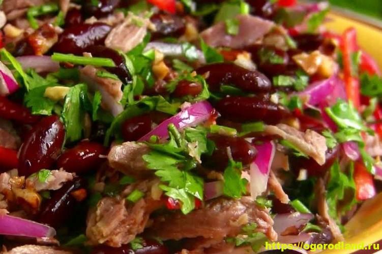 Острый салат с говядиной «Ходжа Насрединн» 3