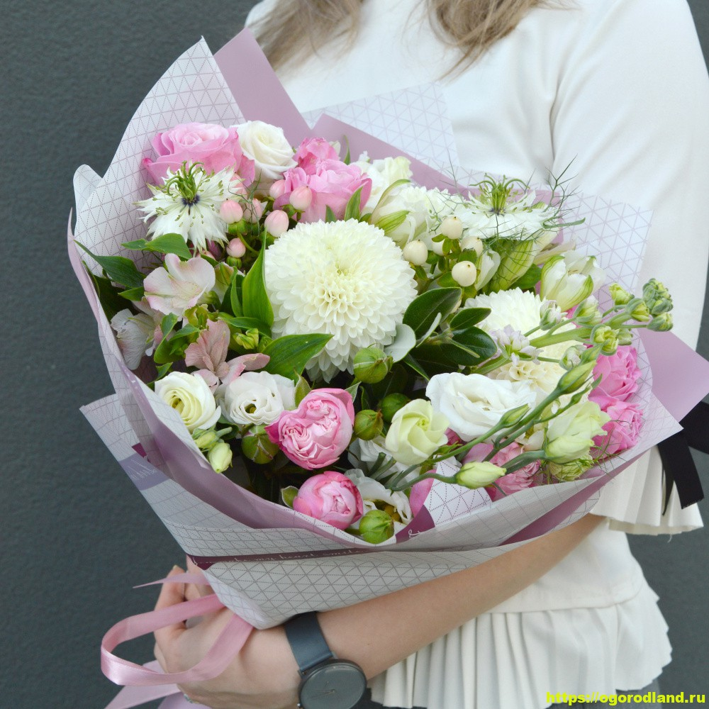 Как заказать цветы с доставкой?