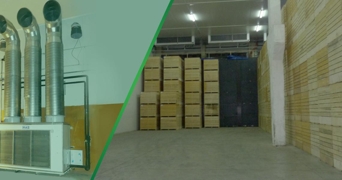 Энергосбережение на холодильных складах, овощехранилищах