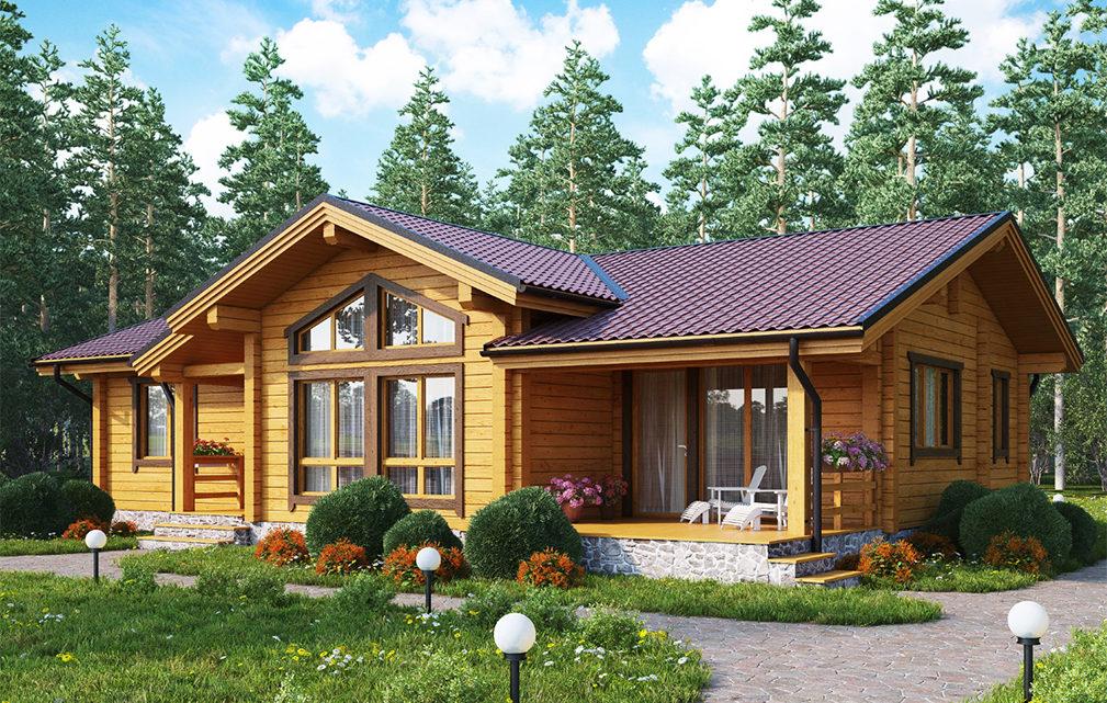 Производство клееного бруса и дома из клееного бруса – свойства строительного материала